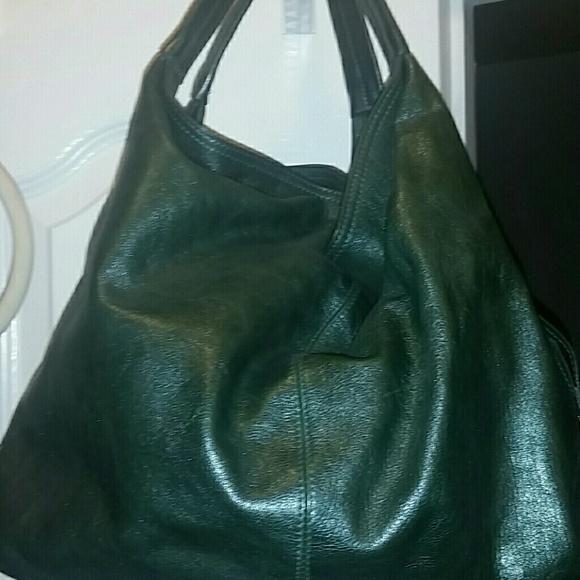 cb4b22b686ba45 Furla Bags   Dark Green Handbag Leather Mint Condition   Poshmark